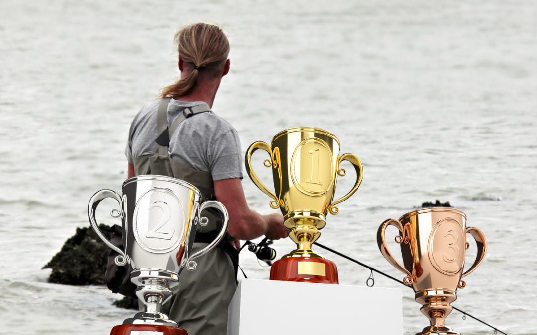 Flotte præmier til fiskekonkurrencen…